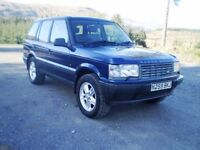P38 Range Rover 4.0 SE V8 - Very good condition for age and lots of history - m.o.t till 18/02/2018