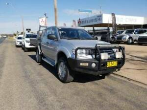 2013 Mitsubishi Triton GLX MN Manual 4x4 MY13 Double Cab Young Young Area Preview