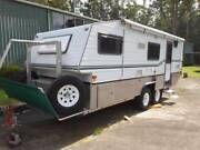 2005 Bushtracker Off Road Caravan 20' Mandalong Lake Macquarie Area Preview