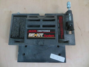 Craftsmen Jointer Router Plate Attachment
