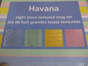Havana 8 Piece Textured Mug Set London Ontario image 2