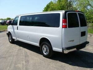 """2007 Chevrolet Express 3500 """"EXTENDED"""" Up to 15 people!!"""