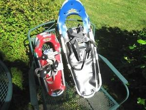 SNOW SHOES BY ATLAS,LITTLE BEAR ,NORTH TRAIL ETC $80.00