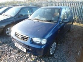 2003 SUZUKI ALTO 1.1 GL WHEEL NUT (BREAKING)