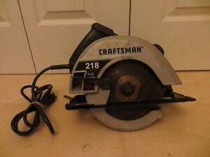 Craftsman 7 1/4'' Saw