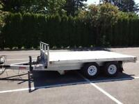 Ultimate Toy Trailer- aluminum roll off deck