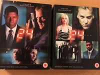 24 series 2&3 DVD box sets