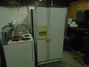 1000788 REFRIGERATEUR COTE A COTE WHIRLPOOL SIDE BY SIDE REFRIGERATOR
