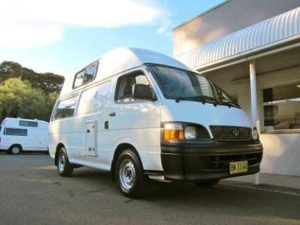2004 Toyota Hiace Ex Rental Campervan for sale- Sydney Woolloomooloo Inner Sydney Preview