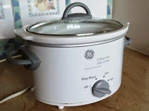 GE slow cooker $30