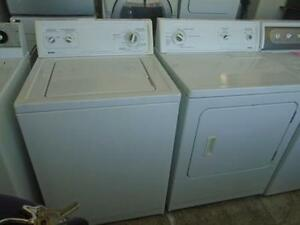 1001147 SET KENMORE WASHER AND DRYER *** DUO  LAVEUSE / SECHEUSE KENMORE