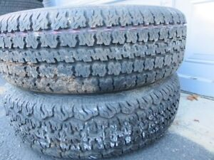 Set of 2 Cientra Steel Belted Tires London Ontario image 2