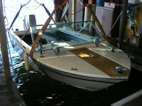 1971 Grew SS150 with 60HP Evinrude 3cyl Outboard w/tilt trailer