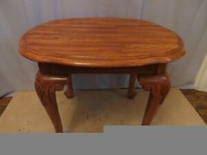 Solid Oak Wood Side Table London Ontario image 1