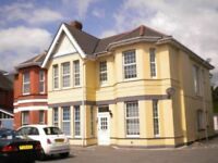 PART FURNISHED 2 BEDROOM FIRST FLOOR FLAT WITH PARKING SITUATED CLOSE TOBOURNEMOUTHY TRAIN STATION