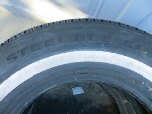 Set of 2 Cientra Steel Belted Tires London Ontario image 4