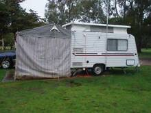 Roma 14ft Pop Top Caravan with Annex & Side Awning St Albans Brimbank Area Preview