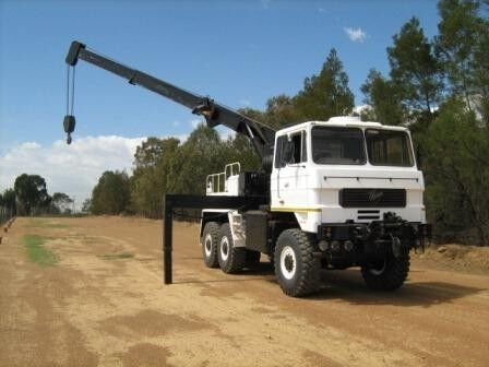 Foden 6x6 Recovery RHD white