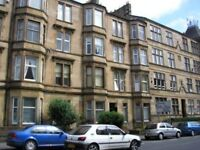 Traditional 1 bedroom furnished or unfurnished ground floor flat, Alexandra Parade, Glasgow