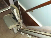 Concord Liberty Stairlift Chair Lift  2 piece
