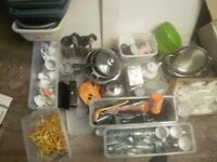 Job lot, bulk purchase, car boot, jumble sale, catering pub cafe equipment