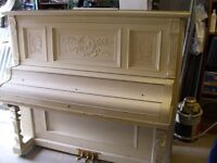 piano droit antique haines compagnie New-york