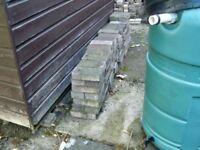 Block paving bricks 200 mm x 100 mm