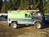 Land Rover 110 Defender 2.4TDCi Utility - Full Service History