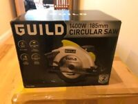 Moving Sale - • Guild 185 mm Circular Saw