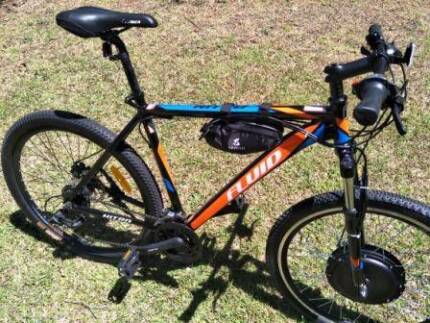 Fluid Nitro Electric Off Road Mountain Bike