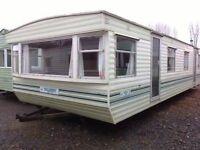 Willerby Herald 35 x 12 ft / 2 bedroom caravan with electric heaters