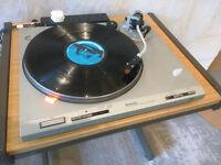 Mint Technics SL-D202 Direct Drive Turntable with original (unused) lid