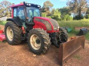 Valtra N111 FWA air cab Tractor with front hydraulic blade Wamuran Caboolture Area Preview