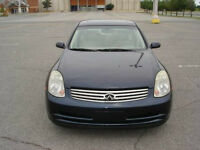 2004 INFINITI G35 X - ALL WHEEL DRIVE - NO TAXES TO PAY