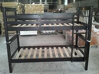 ★LORD SELKIRK FURNITURE★SHANGHAI BUNK BED FRAME-ESPRESSO $249.*★