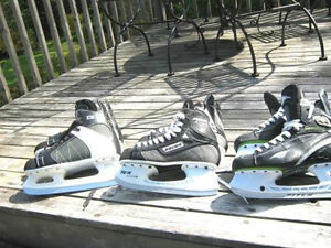 HOCKEY SKATES ,GOALIE/FORWARD NEW AND OTHERS