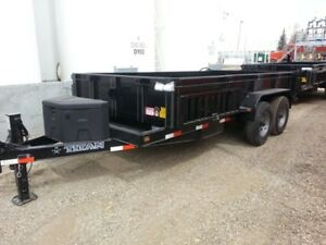 TAXES INCLUDED!!  New  Titan  14' HYDRAULIC  Dump Trailer