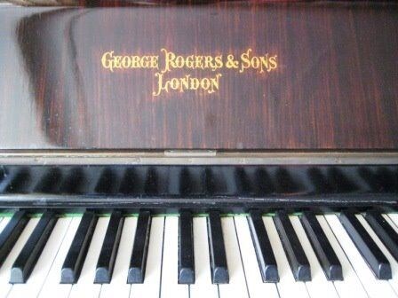Rogers Upright Piano and Stool