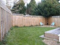 PET CONSIDERED-SPACIOUS FURNISHED 1 BEDROOM GROUND FLOOR GARDEN FLAT IN WESTBOURNE WITH PARKING