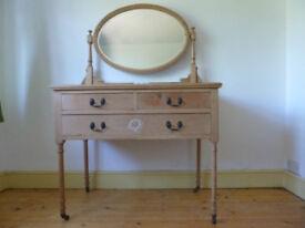 Vintage dressing table. Edwardian.