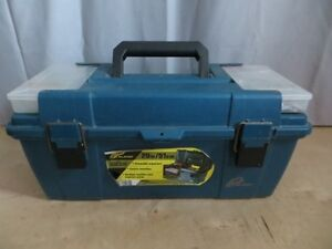Tool Box with Miscellaneous Stained Lamp Shade Tools London Ontario image 1
