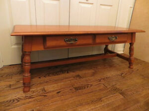Coffee Table with Drawer London Ontario image 4