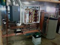 Furnace , Boilers , Garage , Infloor ,installtions and repairs .