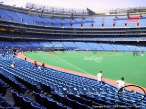 FRONT ROW BLUE JAYS TICKETS