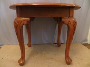 Solid Oak Wood Side Table London Ontario image 2