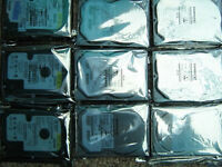 "Hard drives Mix brand 40GB 7200rpm IDE 3.5"" [job lot of 9 drives]"