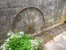 steel tractor wheels Deepwater Glen Innes Area Preview