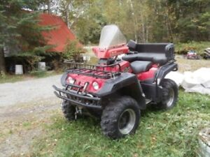 4 roues grizzly Yamaha 1999