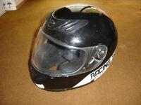 Motorcycle helmet, brand new, black, full face – brand 'Racing Team'