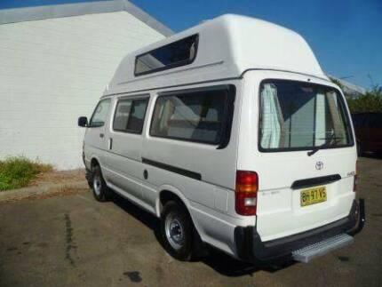Toyota Hiace Hi-Top Campervan for sale- Sydney Woolloomooloo Inner Sydney Preview